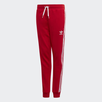 Pantalon 3-Stripes Rouge Enfants Originals
