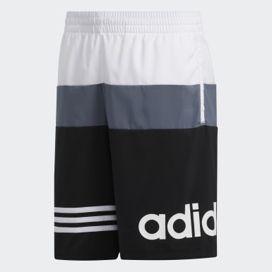 Children Training Black AEROREADY Colorblock Shorts