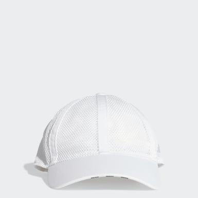 เทรนนิง สีขาว หมวกเบสบอลผ้าตาข่าย