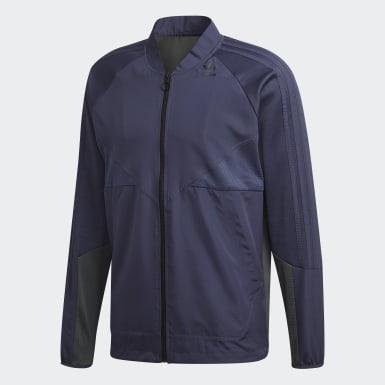 Erkek Originals Mavi adidas PT3 Fermuarlı Üst