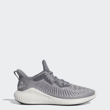 Running Grey Alphabounce+ Shoes
