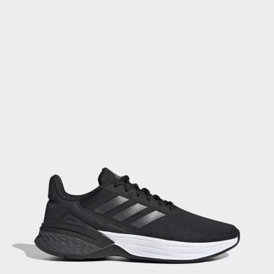 ผู้หญิง วิ่ง สีดำ รองเท้า Response SR