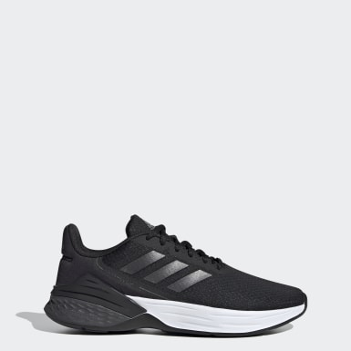 Women Walking Black Response SR Shoes