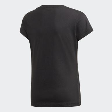 Essentials Linear T-skjorte Svart