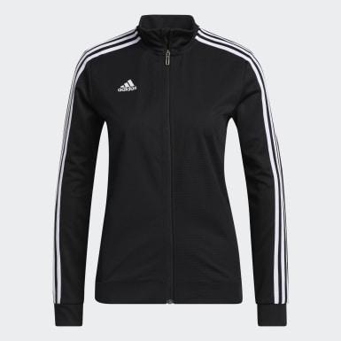 Veste d'entraînement Tiro 19 noir Femmes Soccer