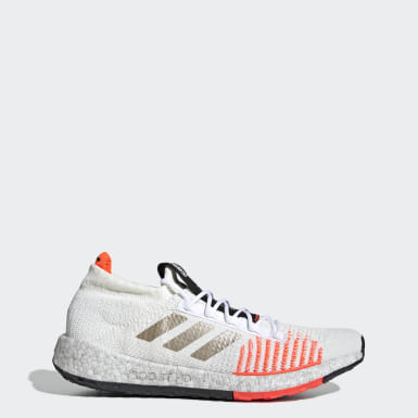 Men Running White Pulseboost HD Shoes