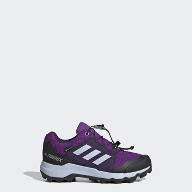 Kids TERREX Purple Terrex GORE-TEX Hiking Shoes
