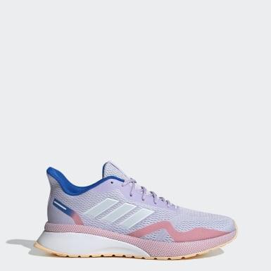 Women Running Purple NOVAFVSE X Shoes