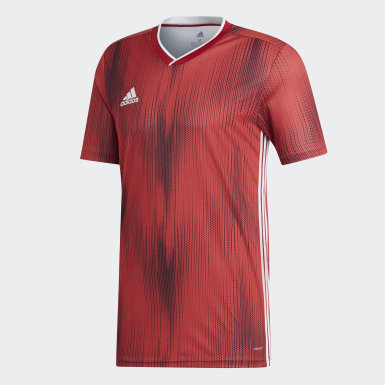 Men Soccer Red Tiro 19 Jersey