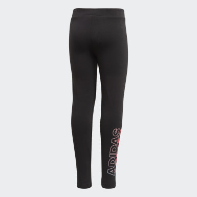 Calça Legging Preto Kids Training