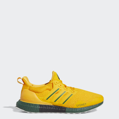 Chaussure Ultraboost jaune Course