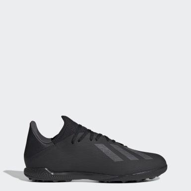Zapatos de Fútbol X 19.3 Césped Artificial Negro Hombre Fútbol