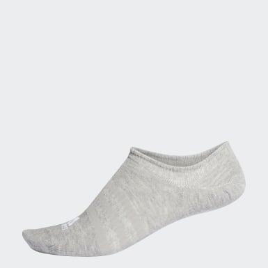 เทรนนิง สีเทา ถุงเท้าซ่อนขอบ
