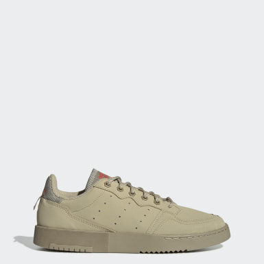 Women Originals Beige Supercourt Shoes