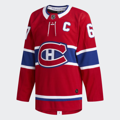 Men Hockey Red Canadiens Pacioretty Home Authentic Pro Jersey