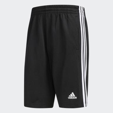 Men Training Black 3-Stripes Inspire Shorts