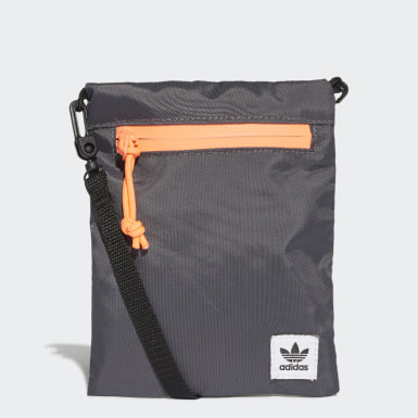 Bolsa Simple Pouch (UNISEX) Cinza Originals
