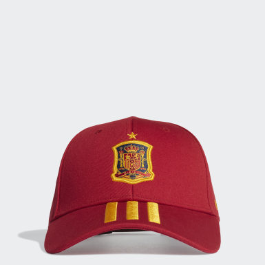Boné Principal de Espanha Vermelho Futebol