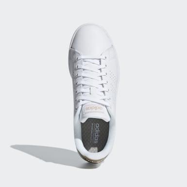 Tenis Advantage Blanco Mujer Essentials