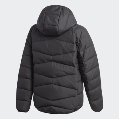 Kids Training Black Frosty Jacket