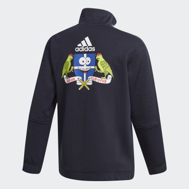 Boys Training Blue Cleofus Track Jacket