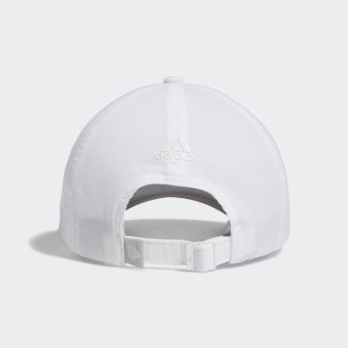 Women Golf White Heathered Crestable Hat