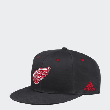 Men's Hockey Multicolor Red Wings Logo Snapback Hat
