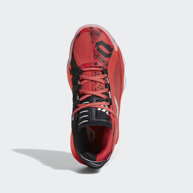 Kids Basketball Red Dame 6 Geek Up Shoes