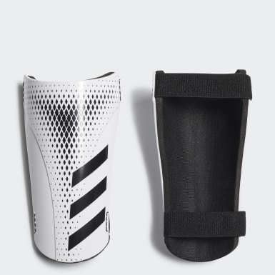 Soccer White Predator 20 Training Shin Guards