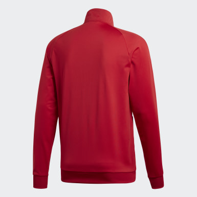Herr Träning Röd Core 18 Jacka
