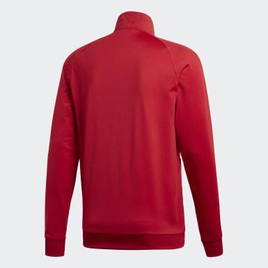 Männer Training Core 18 Jacke Rot