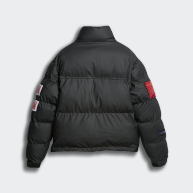 черный Утепленная куртка Alexander Wang Flex 2
