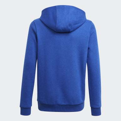 Boys Sport Inspired Blue adidas Essentials Hoodie