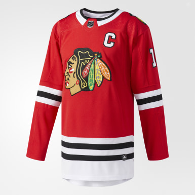 Maillot Blackhawks Domicile Authentique Pro rouge Hockey
