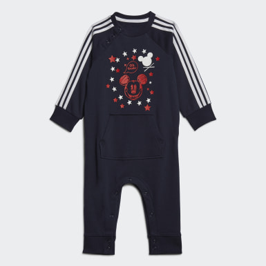 Kids Training Blue Mickey Mouse Onesie