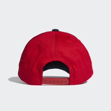 Kinder Training Graphic Kappe Rot