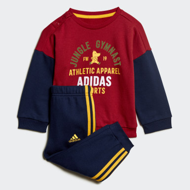 Tuta Graphic Terry Bordeaux Bambini Training