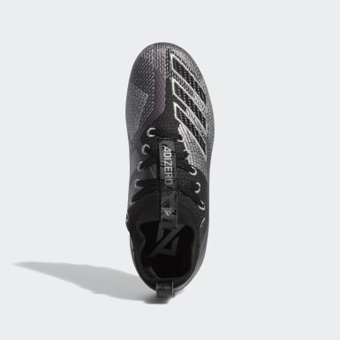 Youth Football Black Adizero 8.0 Cleats