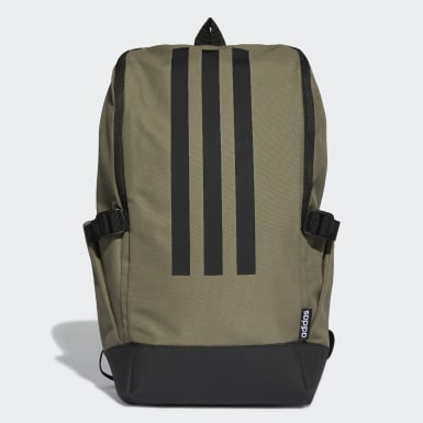Lifestyle Green 3-Stripes Response Backpack