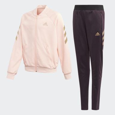 Dievčatá Tréning ružová Tepláková súprava XFG