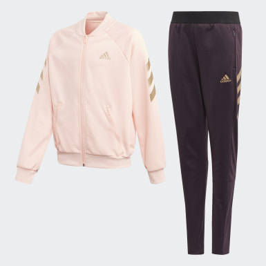 Girls Training Pink XFG Track Suit