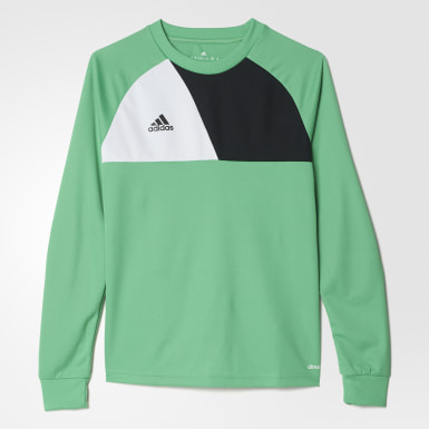 Youth Soccer Green Assita 17 Goalkeeper Jersey