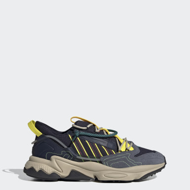 Men's Originals Blue OZWEEGO Zip Shoes