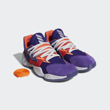 Men's Basketball Purple Harden Vol. 4 Su Casa Shoes