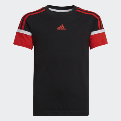 Camiseta Bold Negro Niño Training