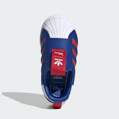 Chaussure Superstar 360 Bleu Enfants Originals