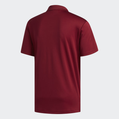 Polo Performance Burgundy Hommes Golf