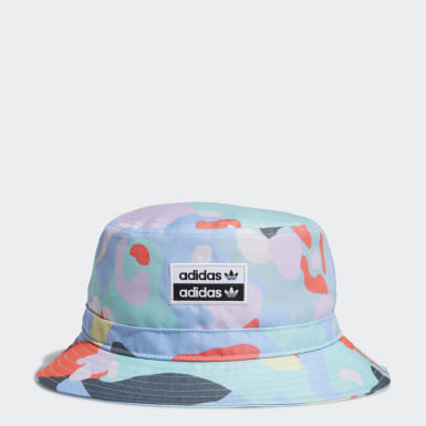 Originals Blue R.Y.V. Allover Print Bucket Hat