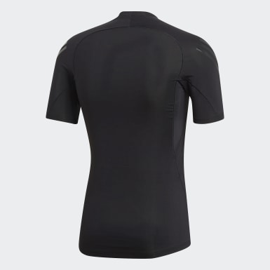 Polo Alphaskin Tech 3 Tiras Negro Hombre Training
