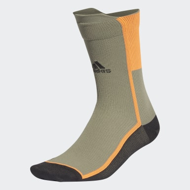 Calcetines clásicos Alphaskin Ultralight Performance Verde Training